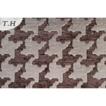 Chenillle tela geométrica del cojín del telar jacquar (fth31930)