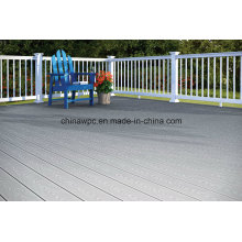 WPC Woodgrain Composite Decking