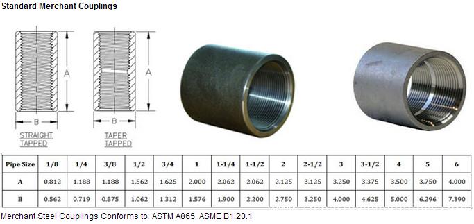 China din en steel pipe socket coupling