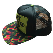 Бейсбольная кепка с сеткой, спортивная шапка Snapback