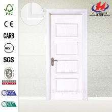 * JHK-011 Portes de cuisine Knotty Pine Interior Portes en bois Double Leaf Wooden Solid Door
