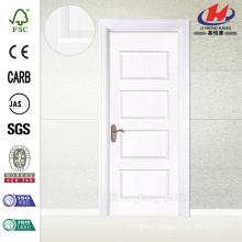 JHK-011 Best Quality Trough HDF Whiter Primer Swing Door