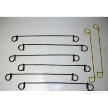 Wire Sack Ties-Doble lazo de lazo de alambre