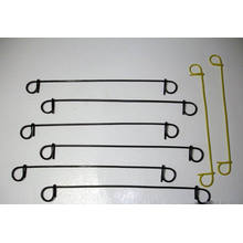 Wire Sack Ties-Double Loop Tie Wire