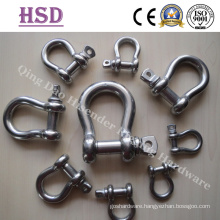 Stainless Steel Us Type Forged Bow Shackle