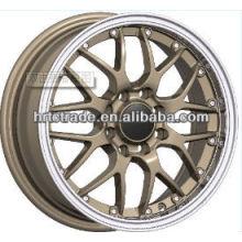 14 polegadas bela 8/4 buraco 100 / 114.3mm réplica carro esporte roda