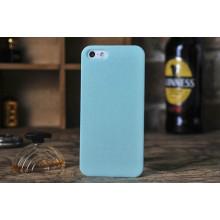 Cas combiné de téléphone portable en plastique pour l'iPhone 6