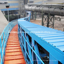 Pipe Conveyor für Material Handling System