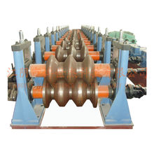 Stahl zwei Wellen Guardrail Rollenformmaschine Hersteller für Dubai