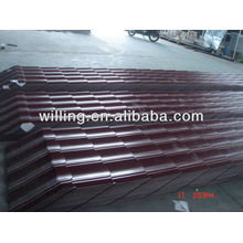 flat clay roof tiles / Color/Galvanized corrugated roofing sheet/Metal tile sheet