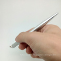Aluminio manual ceja bordado tatuaje lápiz microblading para cosméticos tatuaje