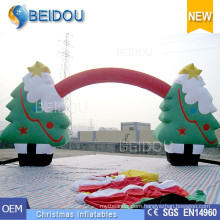 Wholesale Christmas Ornaments Tree Decorations Advertising Inflatable Christmas Arch
