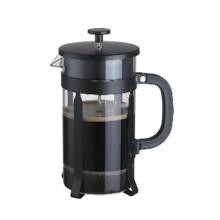 Promoción Kitcheck Gift Teaware vidrio de borosilicato 800 ml de prensa de café hecha en China