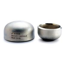 El precio más bajo de las tapas de acero soldadas de acero inoxidable en vinagre para accesorios de tubería