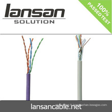 2014 Vente chaude FLUKE Testé Cat5e Câble de communication / Câble réseau / réseau LAN