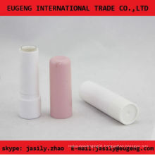 classic pink round lip balm container