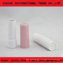 Классический розовый круглый бальзам для губ контейнер