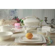 102PCS plomo cadmio libre reina worcester mini plato porcelana cena conjunto