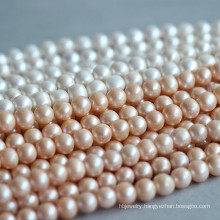 11-12mm Potato/Nearly Round Natural Freshwater Pearl Necklace (E180014)
