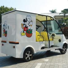 CE aprova carro elétrico de entrega de alimentos movido a bateria (DU-F4)