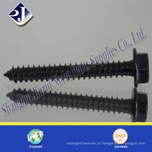 Parafuso auto-roscado de cabeça de flange de aço inoxidável de aço carbono