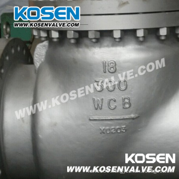 API 6D Full Open Cast Steel Swing Check Valve (H44)