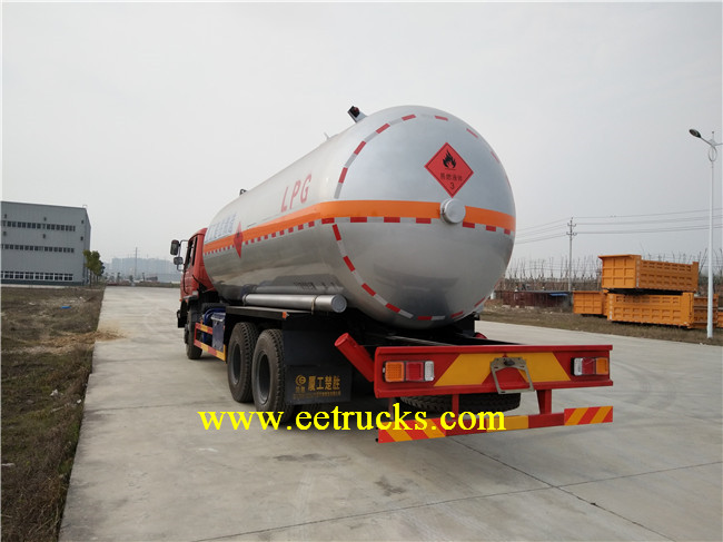 10 Wheeler LPG Tank Trucks