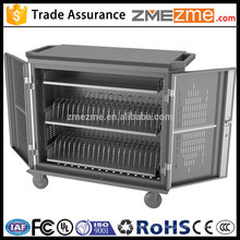 zmezme trade assurance high quality Android tablet charging trolley chrombook safe cart made in China manufacture