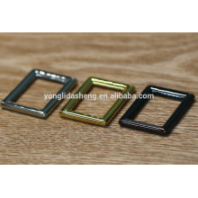 Handbag accessories factory metal no pin buckle,metal buckle for handbags