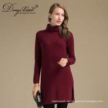 Hohe Qualität Gestrickte Kleidung Wolle Handarbeit Pullover Gestrickte Pullover Kleid Fabrik Preis