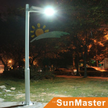 30W LED 60wsolar Panel solar calle integrada lámpara de calle solar todo en uno LED luz