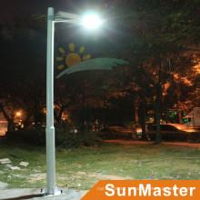 12W tudo em uma luz de rua solar da estrada com sensor