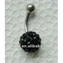 stainless steel Fancy navel ring belly body piercing jewelry