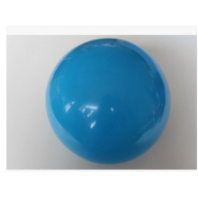 Bola azul pequena do PVC. Bola de praia personalizada do logotipo do PVC do logotipo