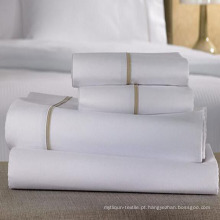 Conjuntos de lençóis de cama para o conjunto de cobertura de consolador de hotel (DPF1056)