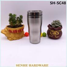100% auslaufsicherer Edelstahl-Vakuum-Reisebecher (SH-SC48)