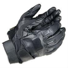 Polícia luvas de couro ISO padrão fornecedor profissional