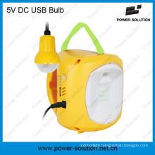 5 Brightness Solar Rechargeable Lantern with 4500mAh SLA Battery