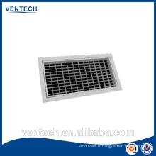Fournir des grilles de ventilation air grille/air