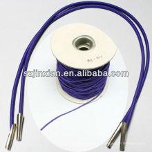Elastische Schnur mit Metallclips, Kordelzug elastisch
