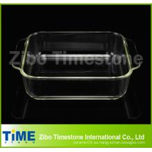 Pyrex de vidrio para hornear microondas plato (DPP-90)