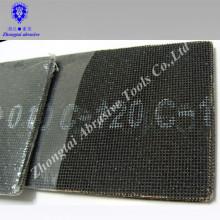 Feuille d'écran de sable de Manfacture, carbure de silicium forme carrée, 115mm * 280mm, P40-320, grille 10 * 12