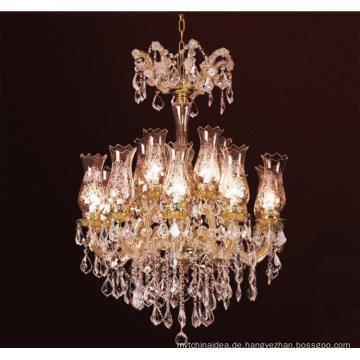 Industrieller moderner Leuchter, hängende Lampe der fantastischen Metallkunst, geführte Pendelleuchte