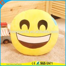 Design de novidade de alta qualidade Emoticon de Emo emoticon Emoção de expressão facial Almofada de pelúcia