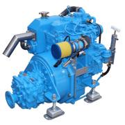Puissance HF 14ch 2 cylindres Diesel in-bord électrique les moteurs marins, moteurs de bateaux de pêche