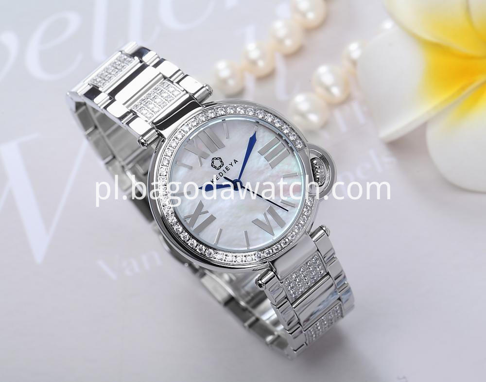 Stainless Steel Watch For Women