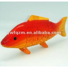 Bois animaux décoration poisson
