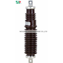 Porcelain Type Arrestor 11kv Lightning Surge Arresters for High Voltage