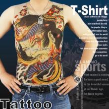 Fashion Printing Tattoo T-Shirt