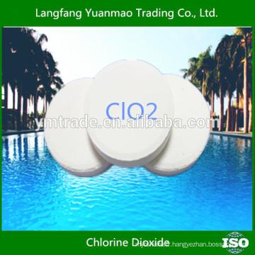 Traitement de l'eau de piscine Dioxyde de chlore